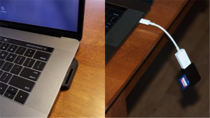 New MacBook Pro Card Reader: Not So Elegant, but Functional