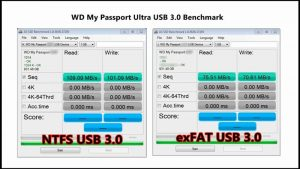 WD 2TB My Passport X for Xbox One Portable External Hard Drive write/read speed